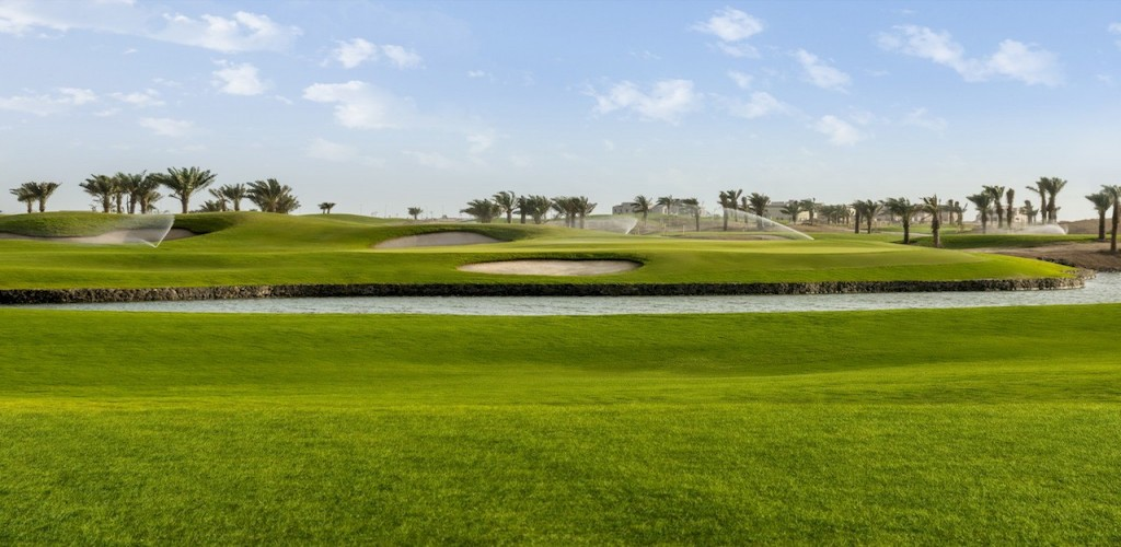 Vulcan de-scaler for Golf Courses