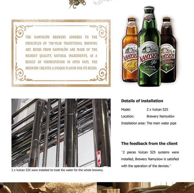 Vulcan News – Namyslow Brewery